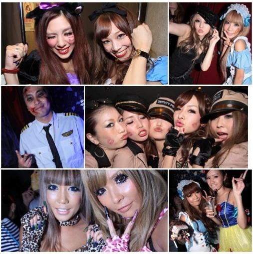 Club Camelot Shibuya Halloween 2012